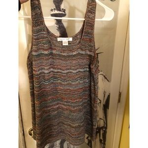 August Silk tank in Large